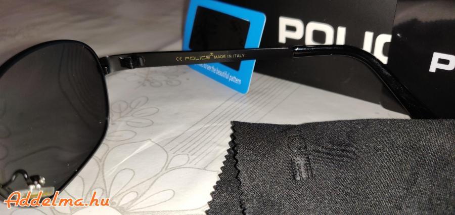 Ajándék, Police emblémával ellátott Polarizált napszemüveg