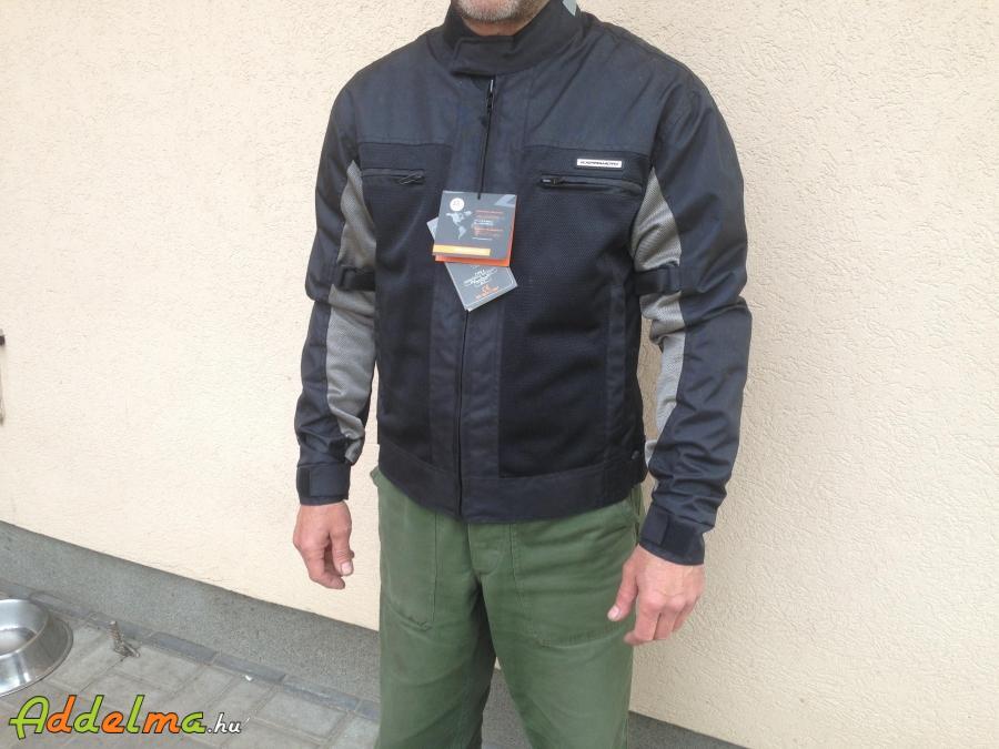 Új nyári szellőzős KAPPAMOTO protektoros motoros kabát eladó