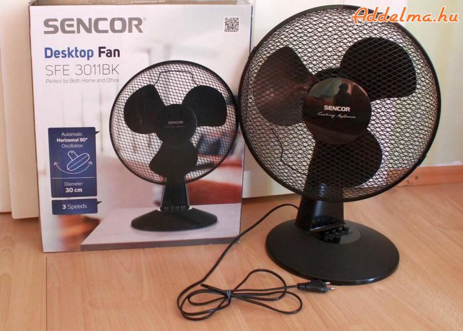 Sencor SFE 3011BK asztali ventilátor eladó