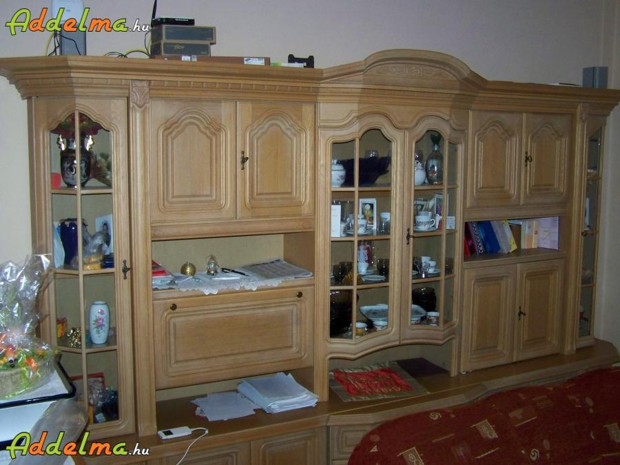 Tölgyfa nappali szekrény eladó., Veszprém megye, Marcaltő ...