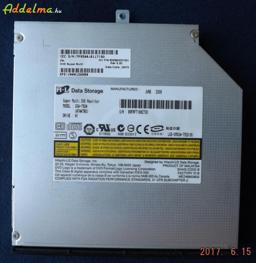 Hitachi LG Data Storage DVD író-olvasó