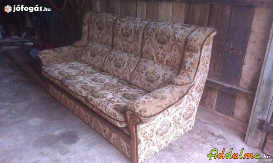 Ülőgarnitúra + 2 fotel