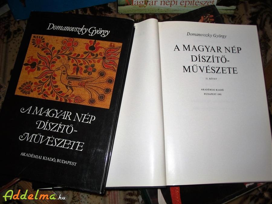 A Magyar nép díszitőművészete