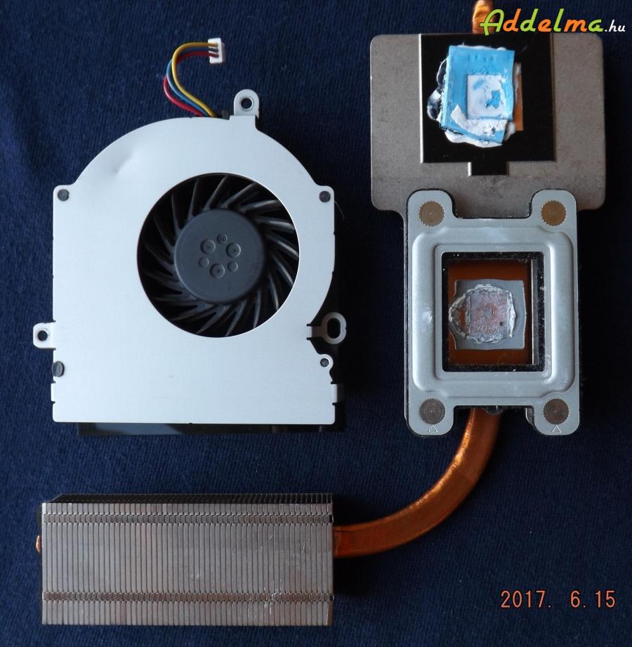 Toshiba Satellite L 300 hűtő ventilátor és hővezető
