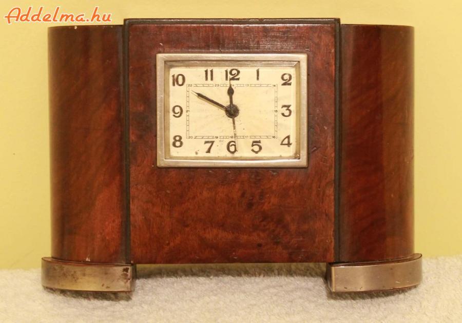 Antik Art deco kandalló óra eladó