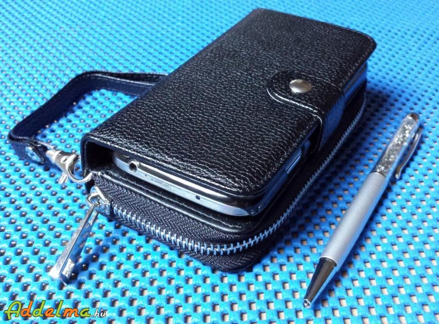 Pénztárca & Samsung Galaxy S4 kemény hátlaptok telefontok egyben