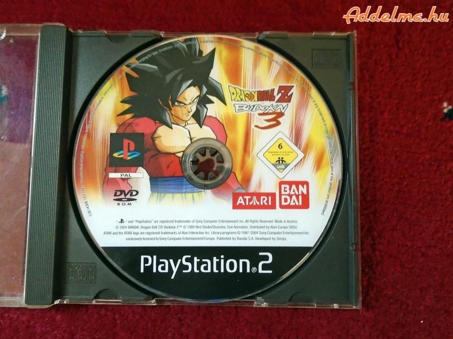 PS2 DragonBallz Budokai 3