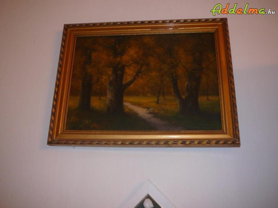 Festmény,   Erdei táj