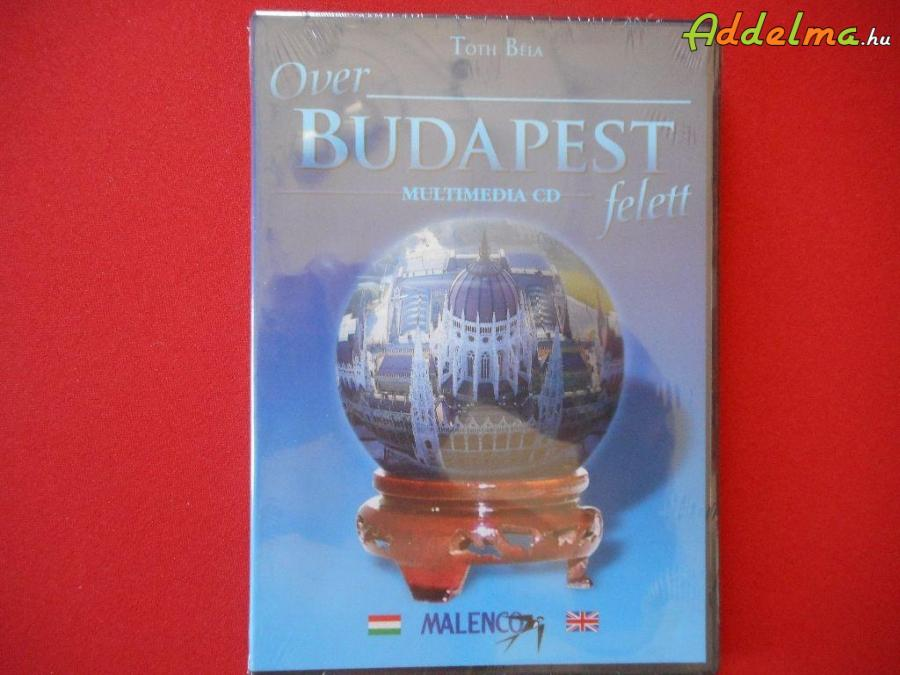 Budapest felett multimédia DVD Bontatlan!
