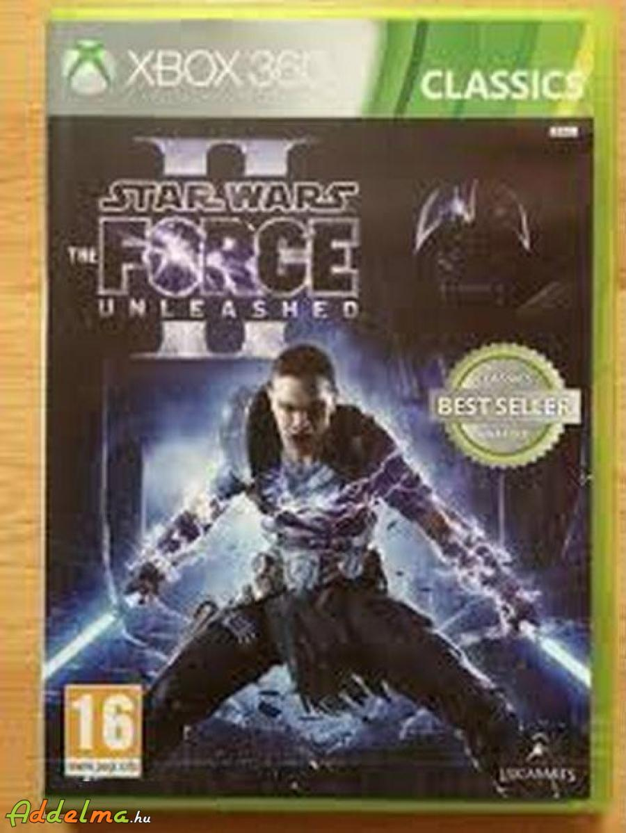 Star Wars Force Unleashed 2 - Xbox360 - Eredeti DVD