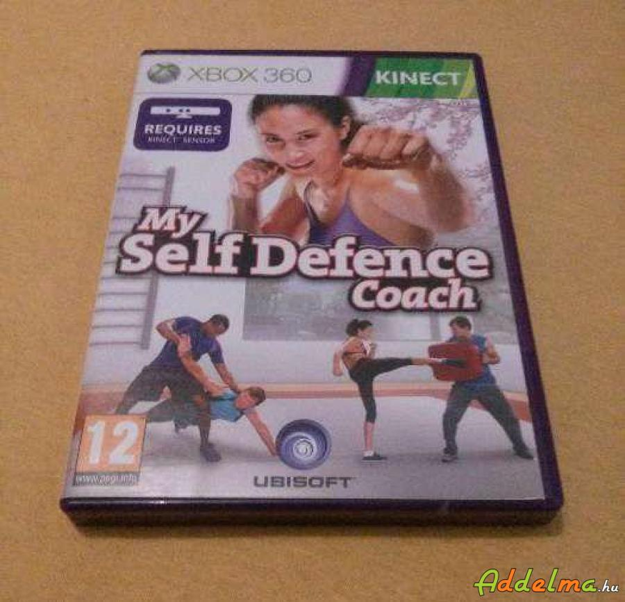 Kinect My Self Defence Coach - Xbox360 - Eredeti DVD