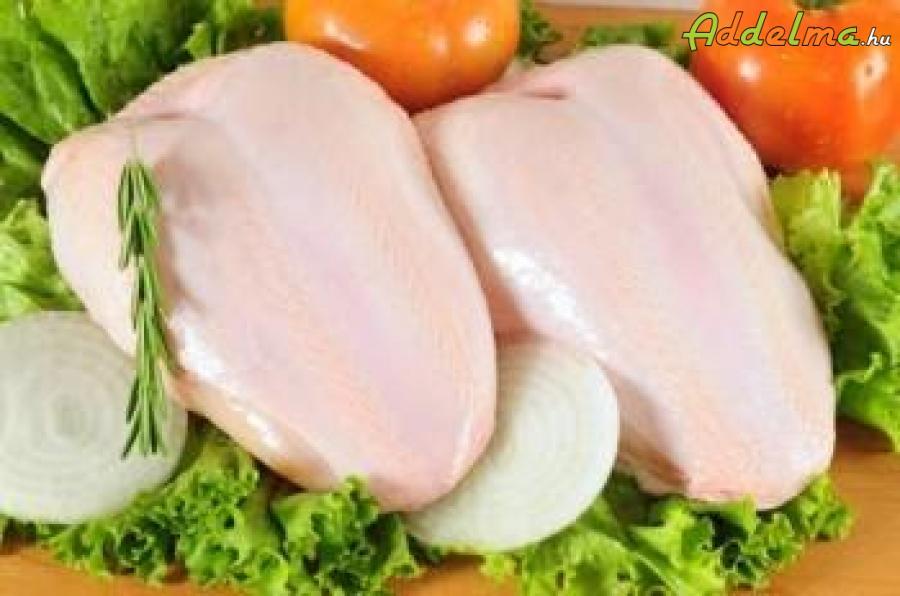 Friss akciós csirkemell ár: 1190 Ft, csirkemell-filé ár: 1590 Ft