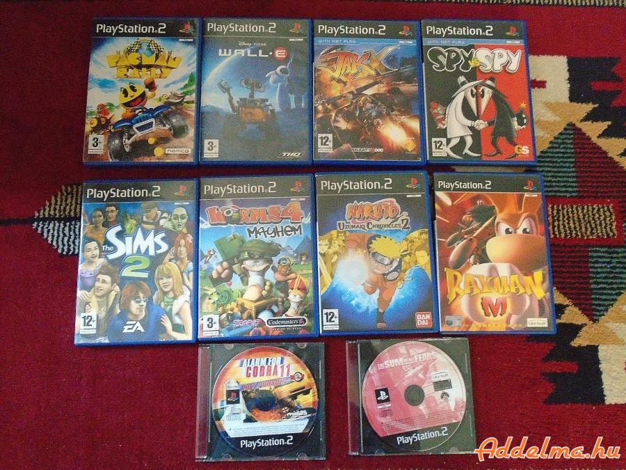 PS2 10db játék