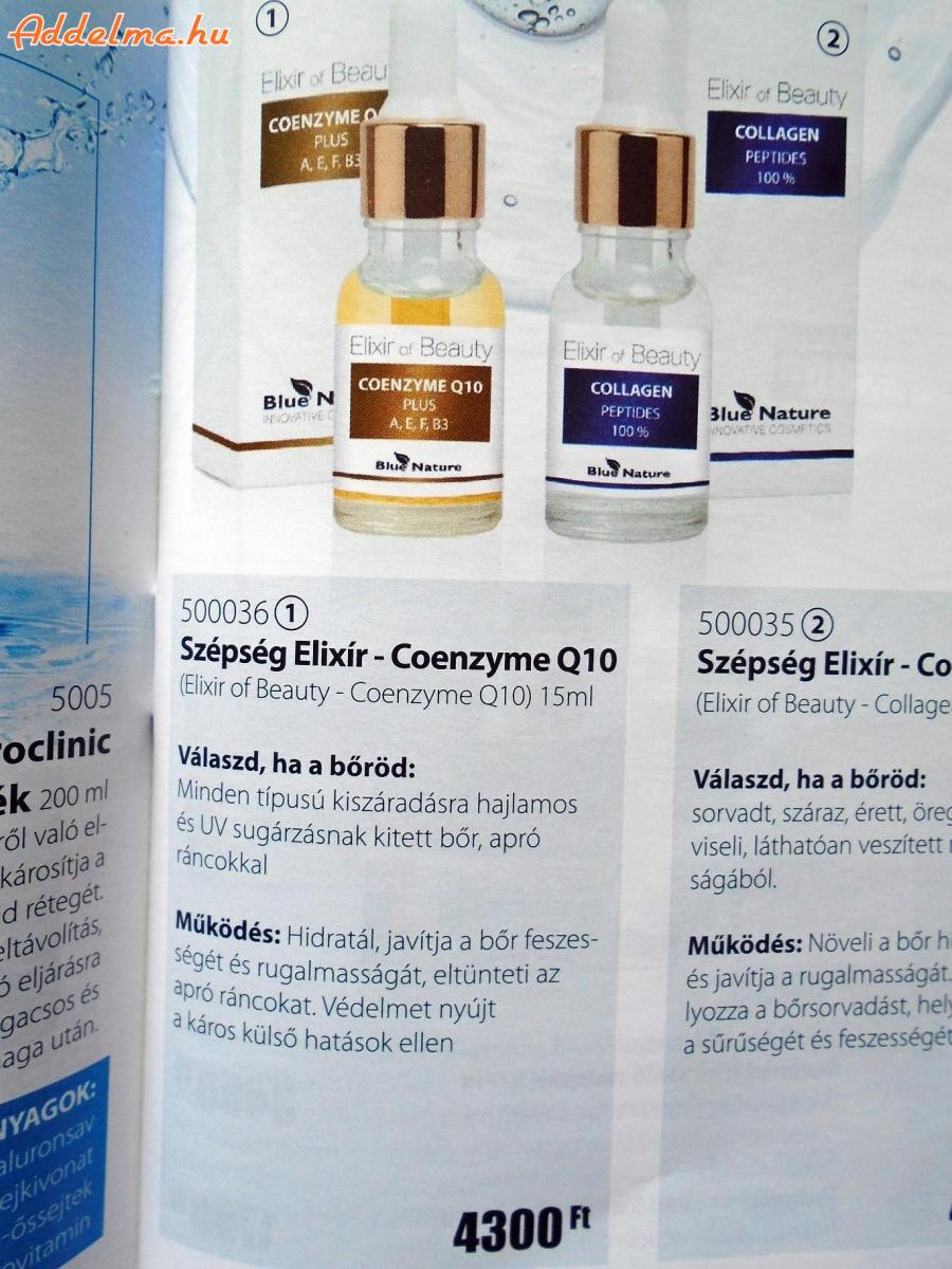Blue Nature szépség Elixír-Coenzyme Q10