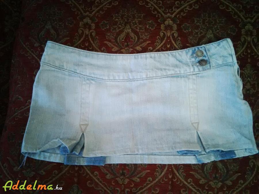 Retro Jeans farmer szoknya S-XS női