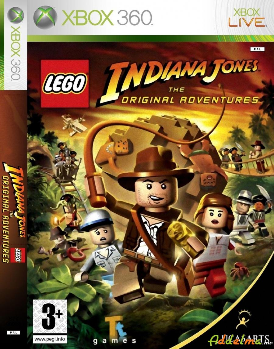 LEGO Indiana Jones Xbox360 - Eredeti DVD