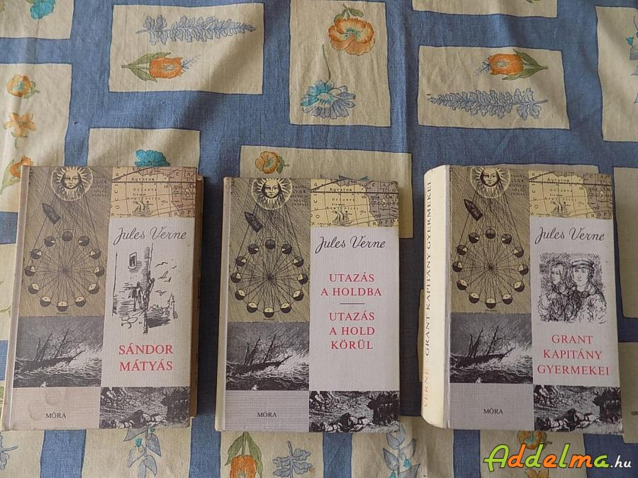 Jules Verne könyvei