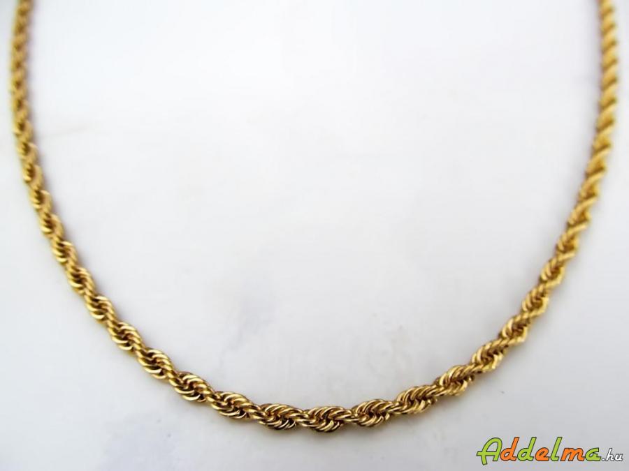 Gold Filled Női Wales sodronymintás nyaklánc 550x3 D5456