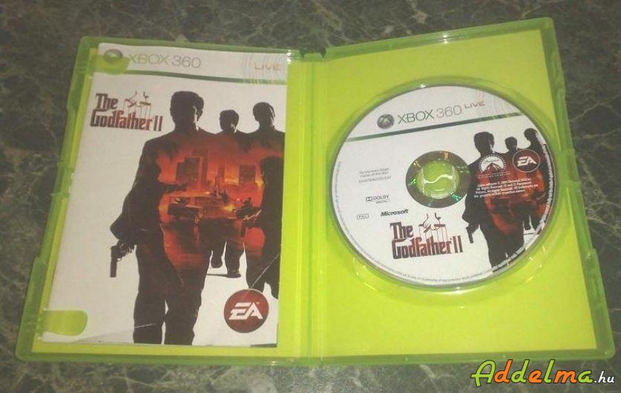 Keresztapa 2 - Xbox360 - Eredeti DVD - The Godfather 2