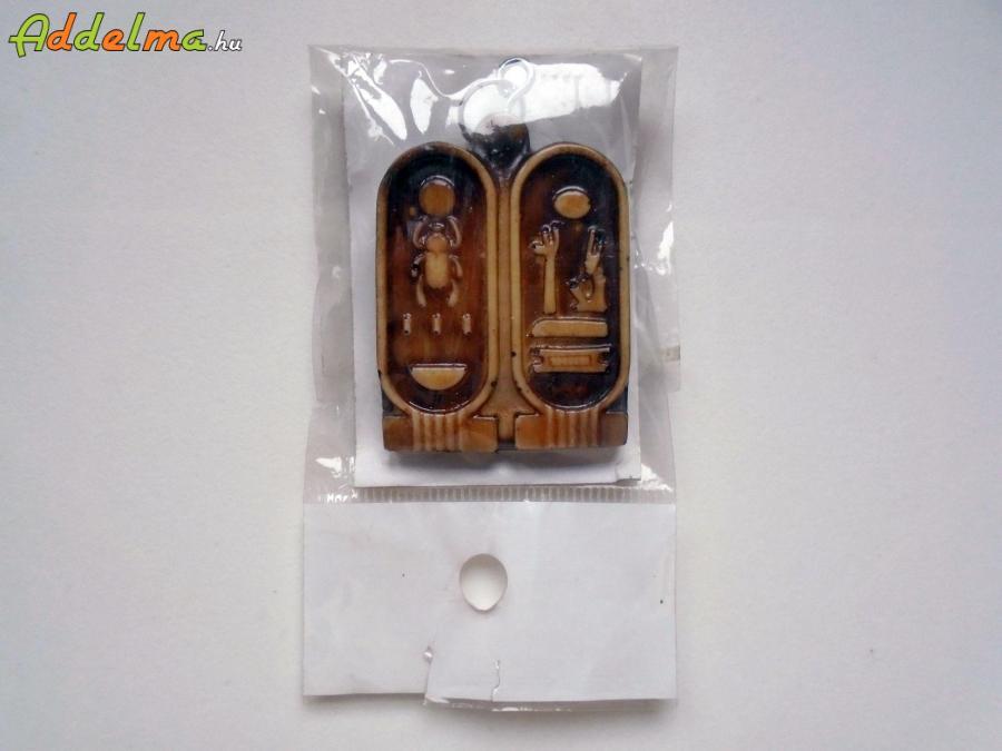 Egyiptomi scarabeus-os kulcstartó
