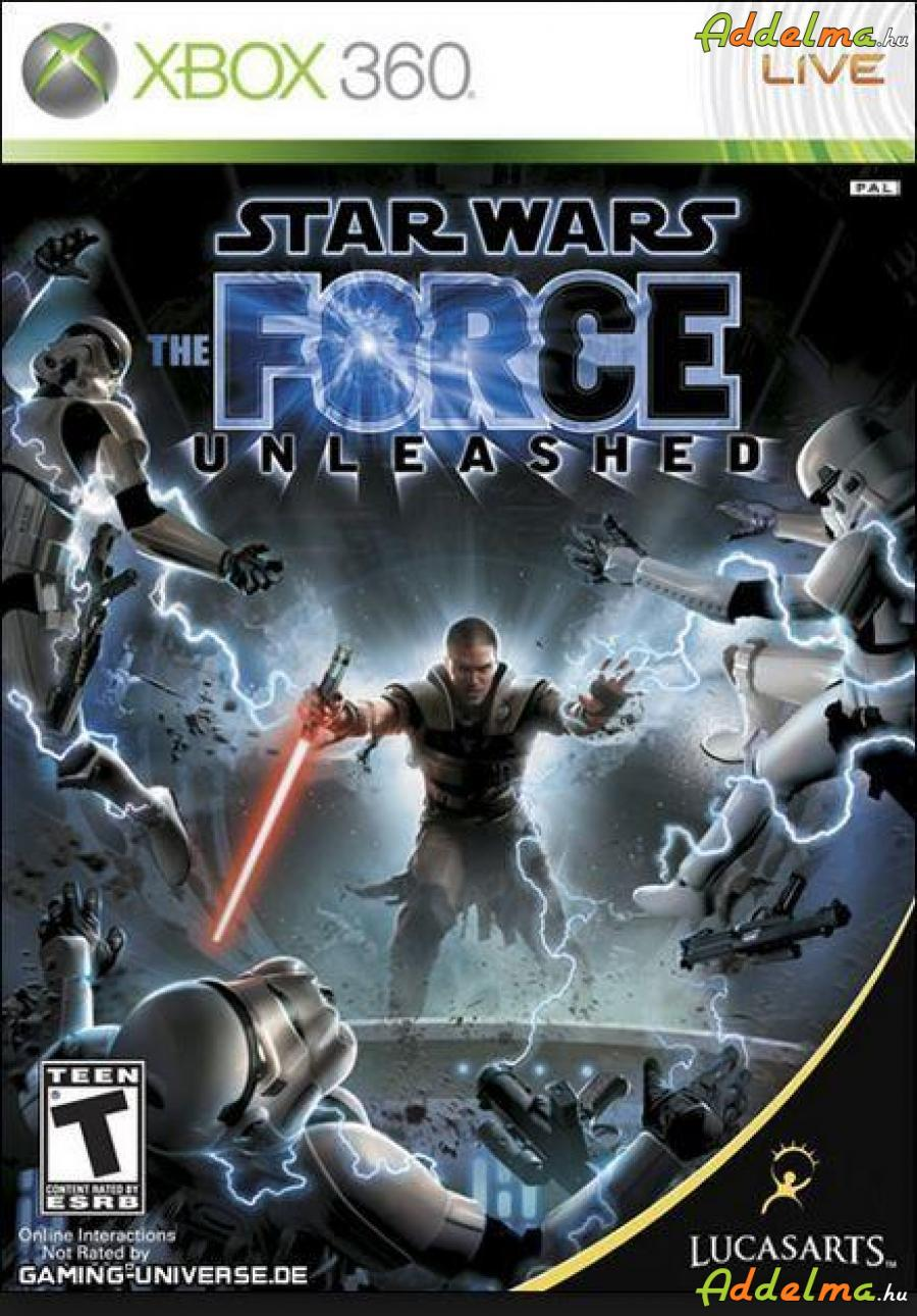 Star Wars Force Unleashed - Xbox360 - Eredeti DVD