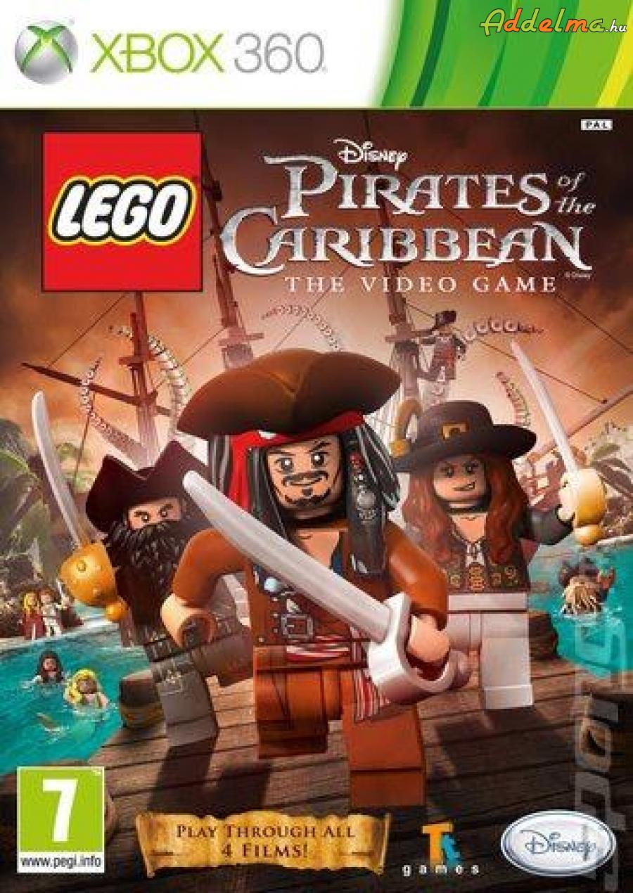LEGO Pirates Caribbean - Xbox360 - Eredeti DVD