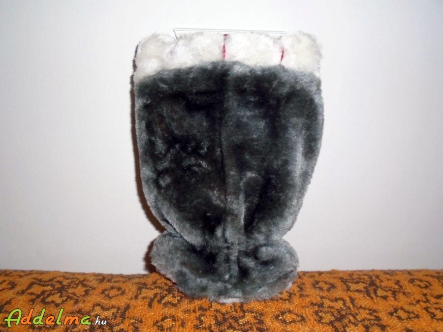 Szőrös jégkaparó kesztyű