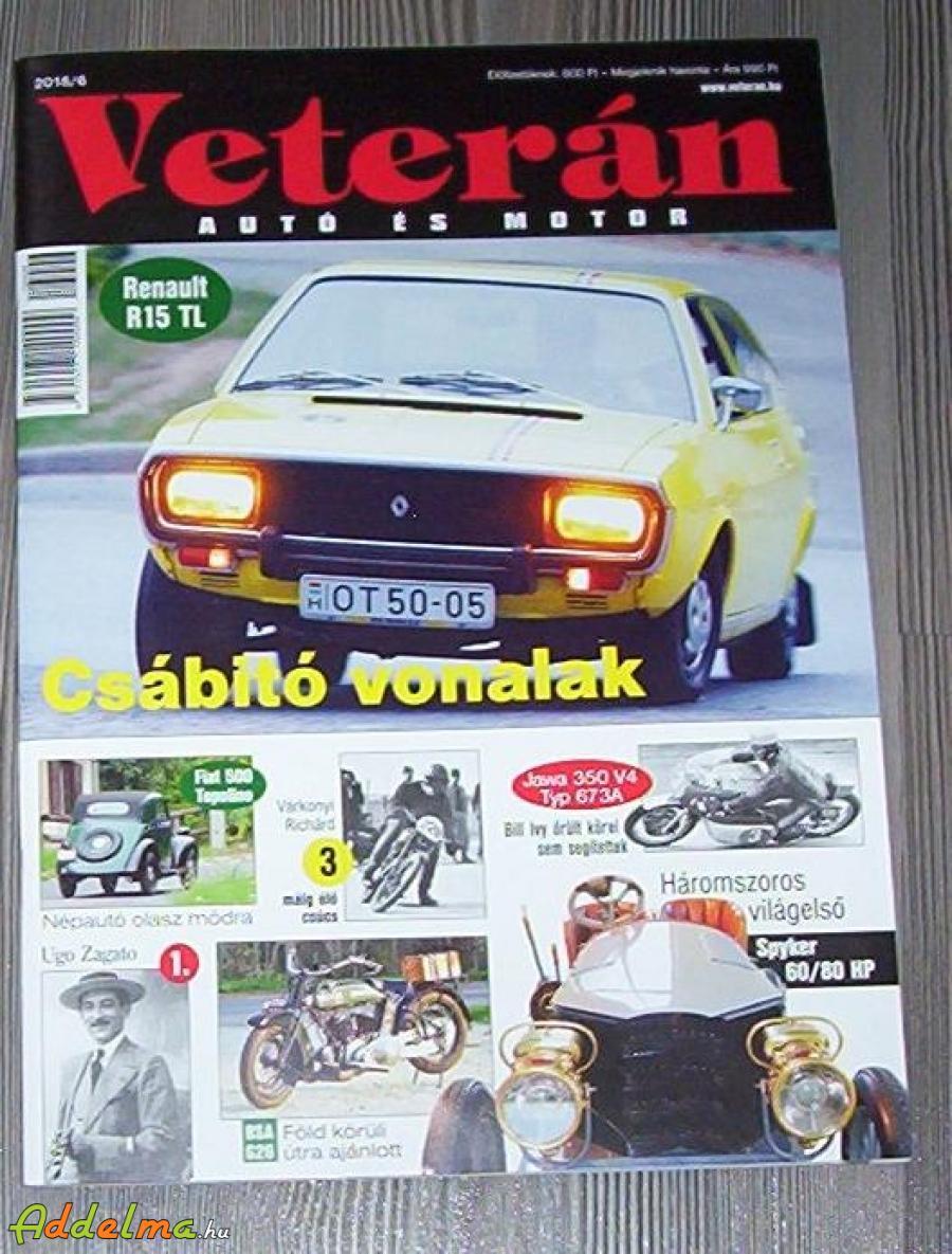 Veterán magazin eladó