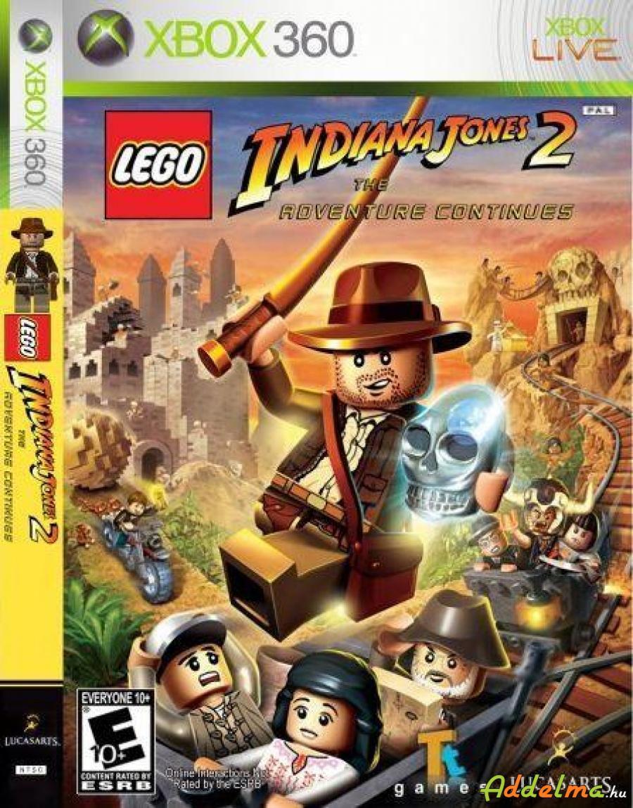 LEGO Indiana Jones 2 - Xbox360 - Eredeti DVD