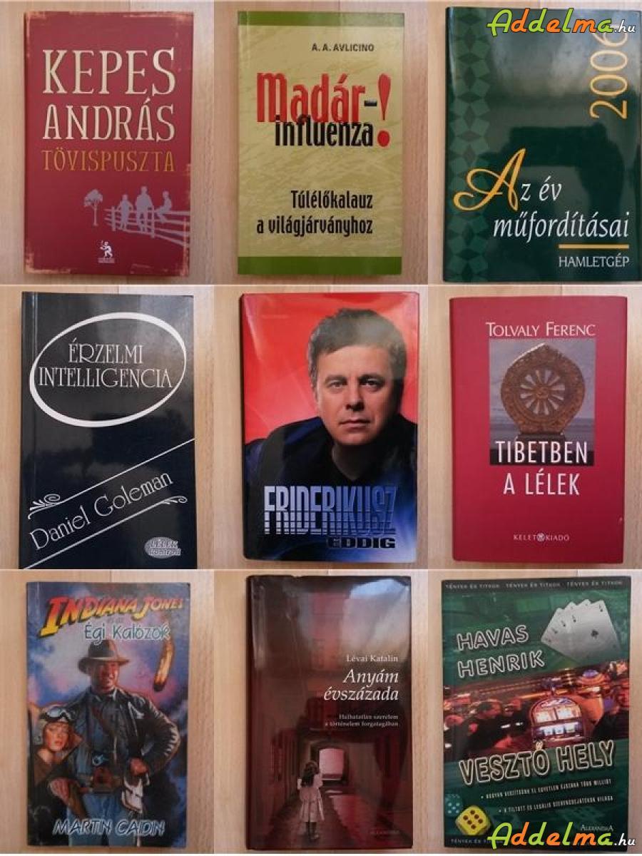 Könyvek, könyv több témában