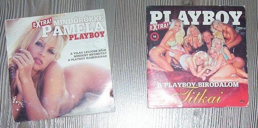 Pamela Anderson, Playboy, FHM DVD eladó (4 db)