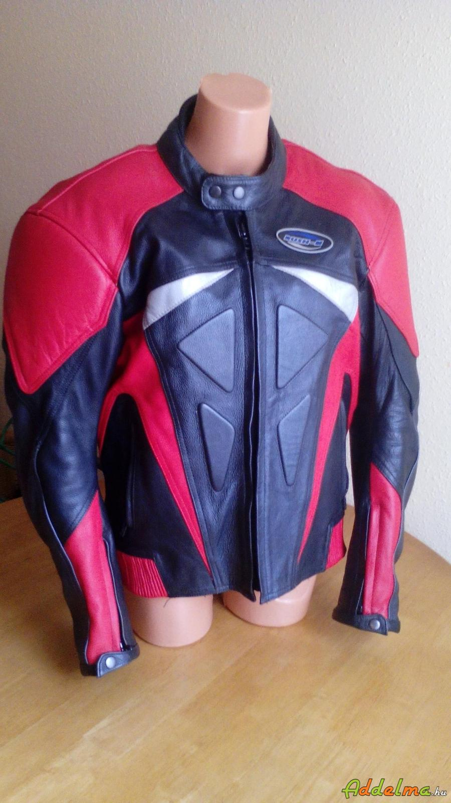 80e542771e Rush-M protektoros bőr motoros dzseki kabát férfi L-XL, Heves megye ...