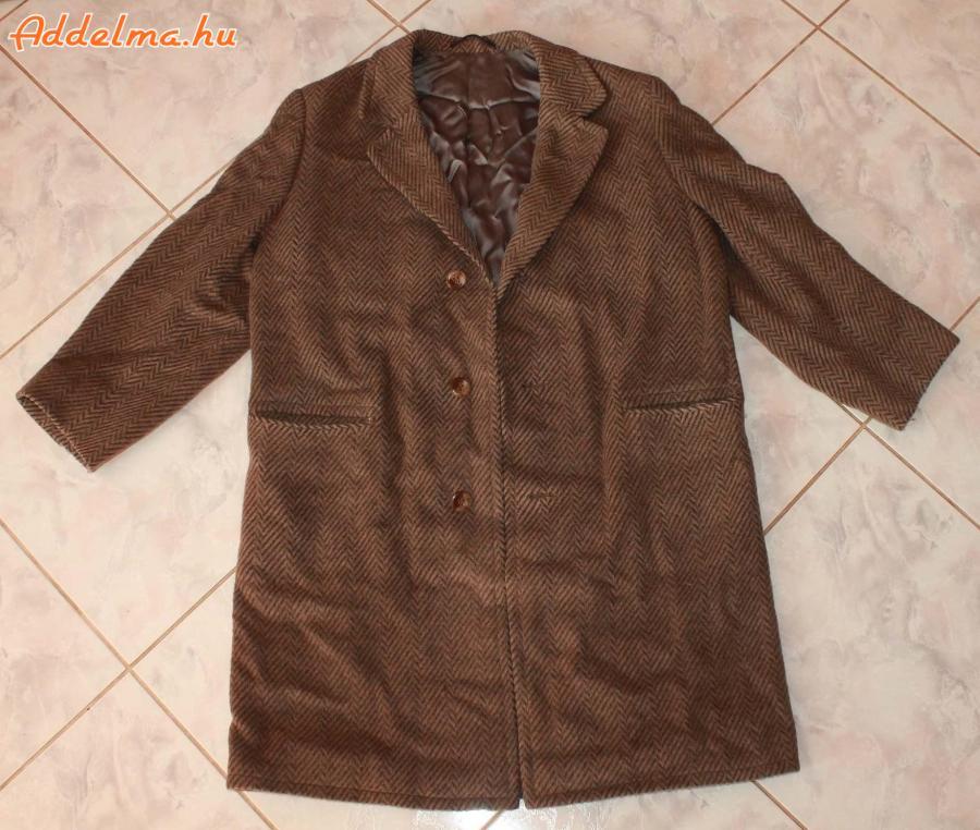 Férfi halszálkamintás kabát eladó