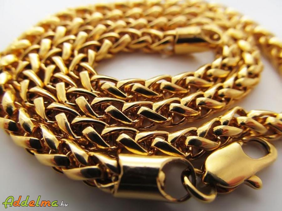 Trendy Gold Filled Női Foxtail Nyaklánc 450x5 A4410
