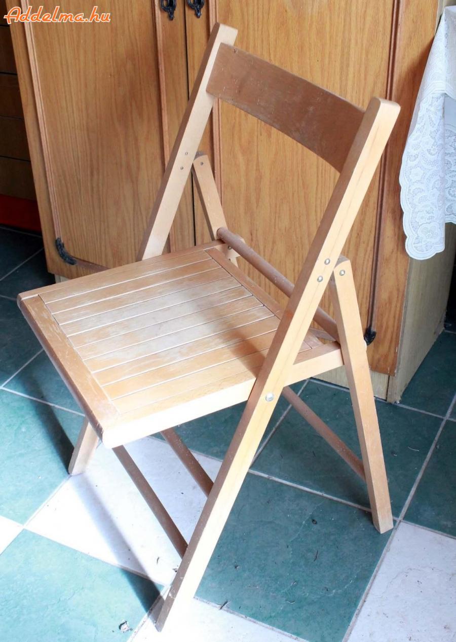 Összecsukható szék eladó