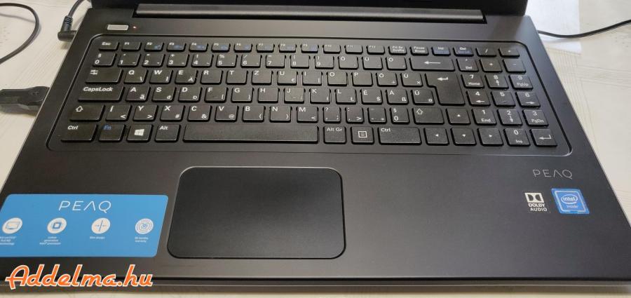 Ajándék, PEAQ (Lenovo) FULL HD-s laptop (ÚJ, Fóliás)