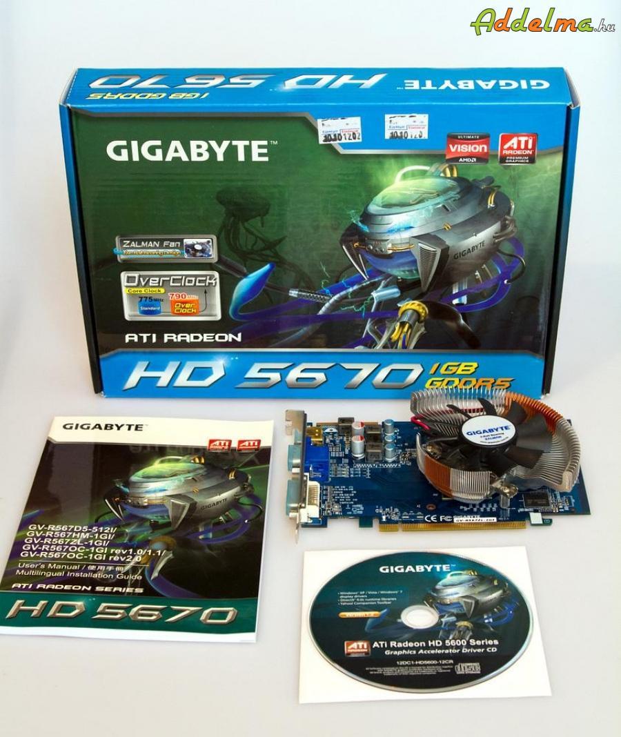 ATI Radeon HD 5670 videokártya