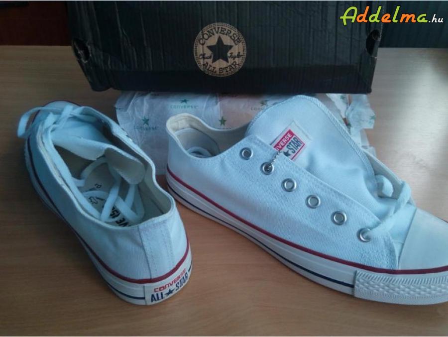 ed6c5e9e49 Converse all star cipő 43-as 280 mm fehér eladó, Baranya megye, Pécs ...