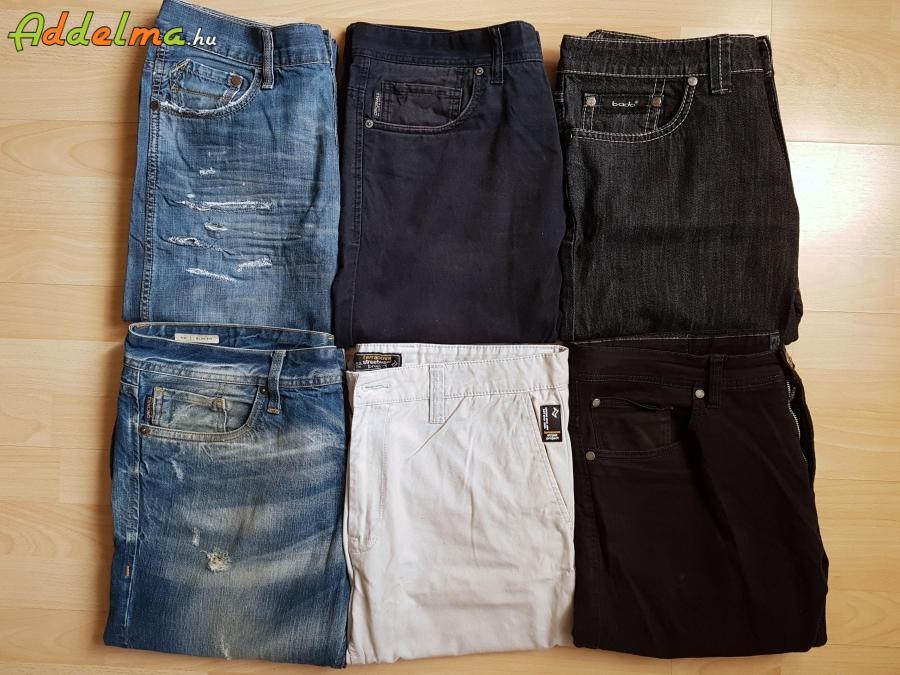 5db férfi farmer nadrág