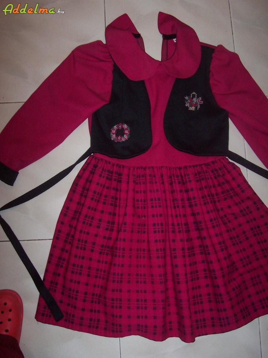 38b12f8a99 128-134-es alkalmi lányka ruha(szövet), Hajdú-Bihar megye, Polgár ...