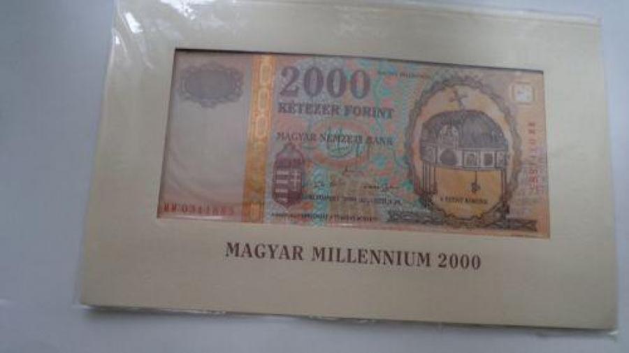 6 db Magyar Millennium 2000 ft-s