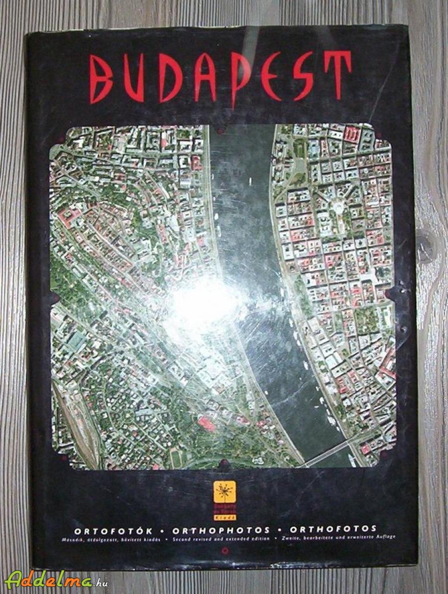 Könyv Budapest ortofotók eladó