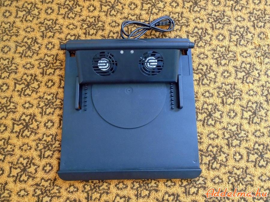 Forgótálcás laptop hűtő