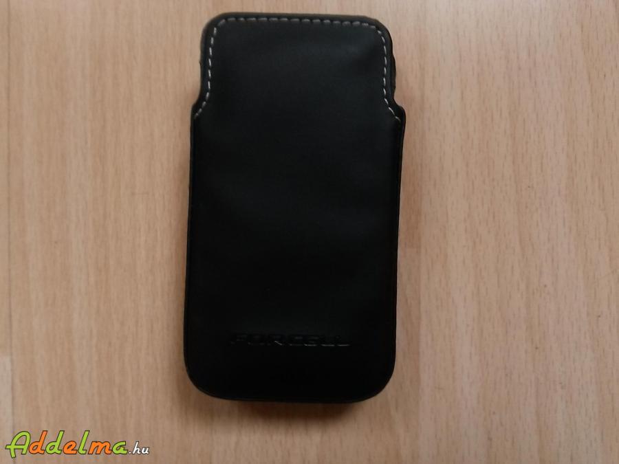 Forcell univerzális bőr telefon tok - 5,2x10,4x1,4cm (új)