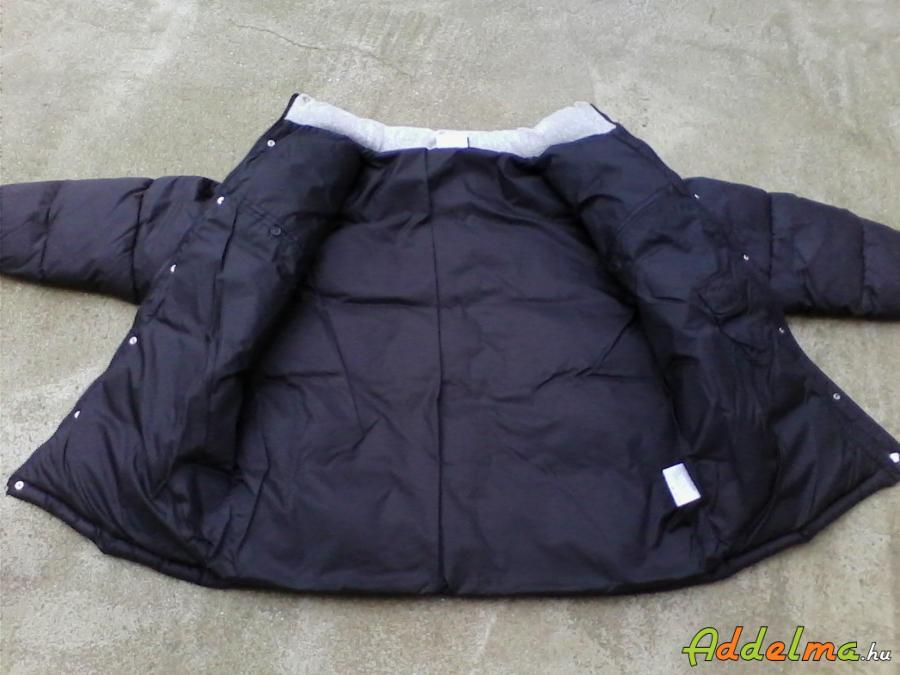 ÚJ! UMBRO férfi pufi fekete téli dzseki XL-es