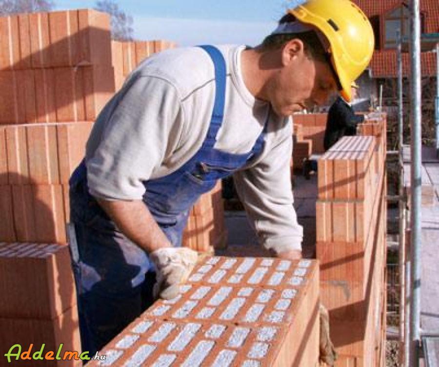 Kőműveseket keresünk magas fizetéssel Hollandiába
