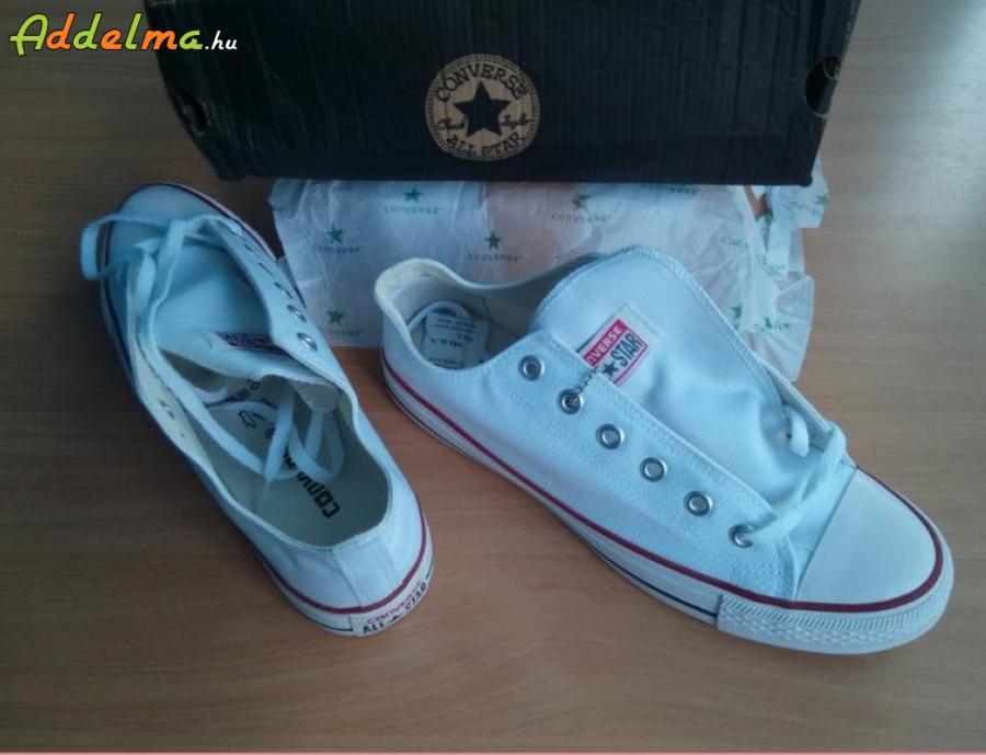 afe6d3fb299f Converse all star cipő 43-as 280 mm fehér eladó, Baranya megye, Pécs ...