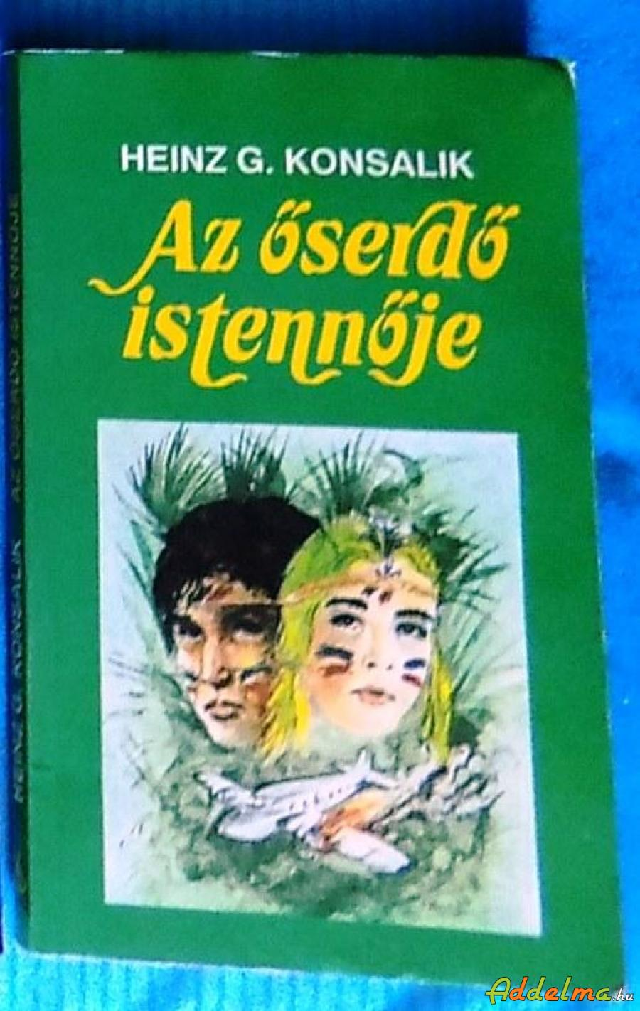 Heinz G. Konsalik: Az őserdő istennője