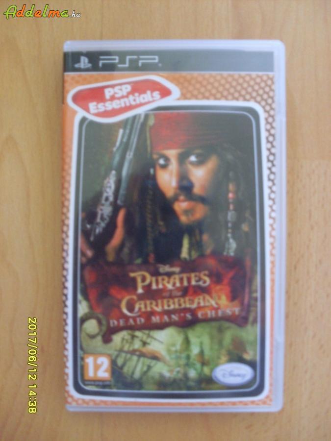 PIRATES of THE CARIBBEAN PSP játék újszerű állapotban!