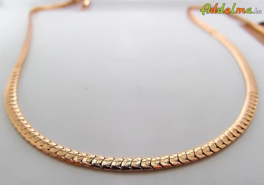 Yellow Gold Filled Unisex rope nyaklánc 500x4 F3132